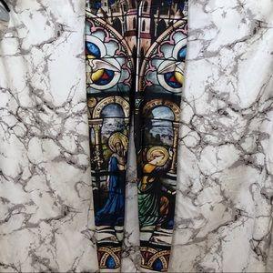 Blackmilk Stained glass leggings